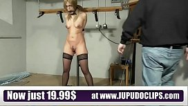 Slave Training Punishment Blonde...