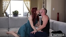 Redhead shemale asshole fucked...