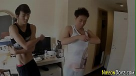 Japanese hunk pounds ass...