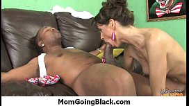 Watching my mom fucked by monster black dong 22