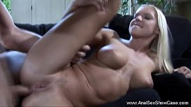 Blonde Beauty Anal Sex...