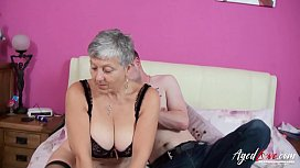 AgedLovE Busty Savana Hardcore Old and Young