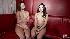 GIRLS GONE WILD - Jasmine Summer'_s First Lesbian Experience Is On Our Couch