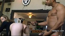 Amateur interracial filmed by...