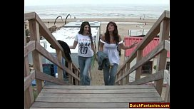 Incredible Dutch Lesbians xxx video