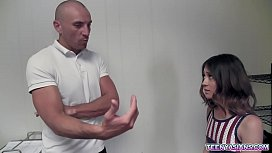 Jasmine Grey is a tiny Asian teen that will do everything just to pass the cheerleader auditions.She fucks with the trainer and gets what she wants.