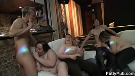 Hot BBW gives head and pussy fucked