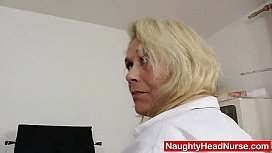 Blond-haired curvicious dame...