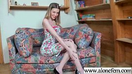 Hot Babe Girl Masrturbate With Toys On Tape clip-10