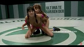 Babes with kinky pussies in lesbian sex