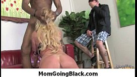 Mommy go black - Interracial hardcore MILF porn video 36