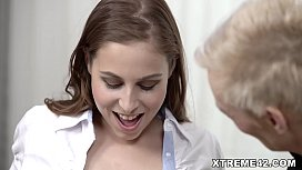 Mature lesbian and her...