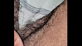 Wifes hairy pussy camel toe