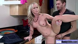 Hard Sex With Bigtits Hot Housewife (simone sonay) clip-27