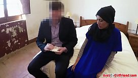 Beautiful Arab wife left...