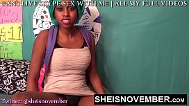 HD Vicious Anal Ride By Black Stepdaughter Msnovember, Fucking Step Dad While Mom Is Gone Extreme Fauxcest on Sheisnovember
