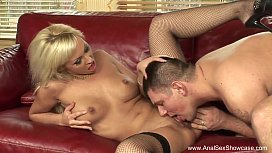 Euro Blonde Intense Anal...