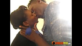 Real African amateur couple...