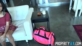 PropertySex - Horny couch surfing...