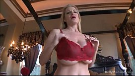 Kelly Madison Wears Red Lace To Fuck Her Husband