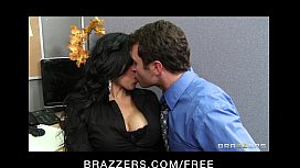 Sexy big-boobed Latina Diamond Kitty has rough-sex with co-worker