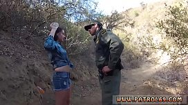 Police woman interracial first...