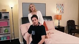 Horny stepmother fucking the amateur STEPSON