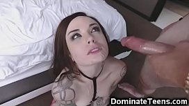 Slutty Teen Dominated and Pulverized!