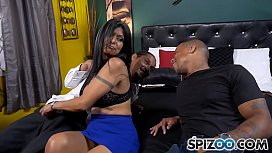 Spizoo - Latin Milf Gabby Quinteros is punished by Two BBC, big boobs &amp_ big booty