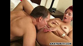 Amateur girlfriend gets fucked...