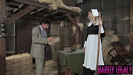 Amish babe Blair Williams...