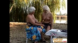 Old blondes open area...