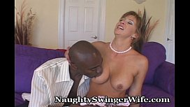Naughty Wifey Shocked By...
