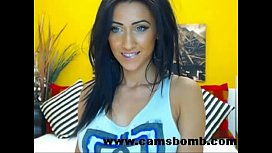 Webcam Brunette Live Show...