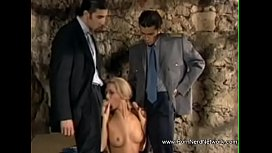 Anal Threesome For Bulgarian Blonde