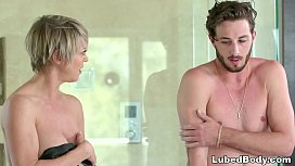 OMG My Friends Mom Is A Nuru Masseuse - Dee Williams And Lucas Frost