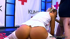 Daisy lee shows perfect riding with facials
