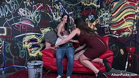 Alison Tyler 4some...