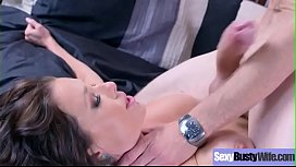 Sex Tape Action With Busty Horny Sluty Housewife (Veronica Avluv) video-29