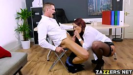 Marc Rose drills Emma...
