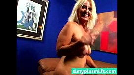 Chubby blonde mature wife...