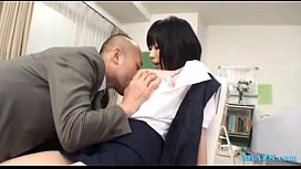 Busty Office Lady Getting...
