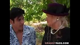 Granny Seduces Young Guy...