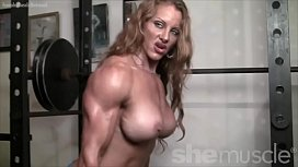 Naked Female Bodybuilder Redhead...