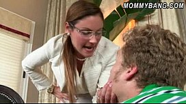 Strict stepmom Samantha Ryan...