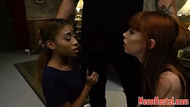 Ginger teen gagged and...
