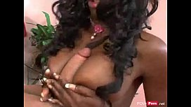 Black horny slut gets...