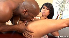 Asian MILF Loves Black Cock