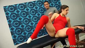 Abella Danger loves flexible...