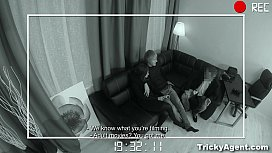 Tricky Agent - Filming horny...